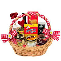 Special Smile N Cheer Gift Basket