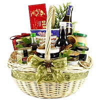 Bright Traditional Delights Gift Basket<br>