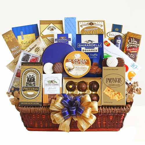 Holiday Gourmet Basket for All