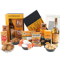Thrilling Gourmet Selection Gift Treat Basket<br>