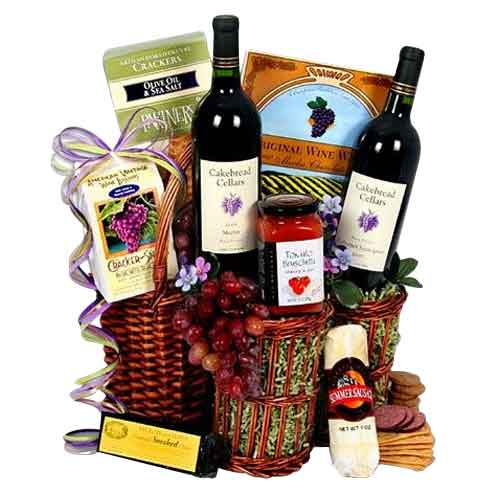 California Wine Gourmet Hamper