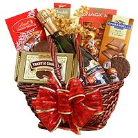Dreamy Gourmet Hamper Containing French Wine