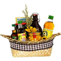 Wholesome Linseed Oil Basket