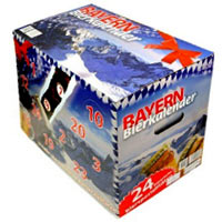 Beer Advent Calendar Bayerisches Bier (24 Bottles)