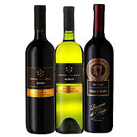 Excellent Silician Gift of 3 Wines