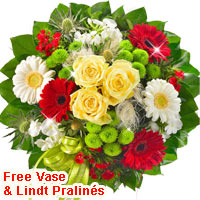 Send Flower Bouquet to Germany