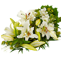special Bouquet with White Lilies