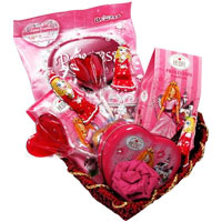 Excellent  Princess Gift Basket